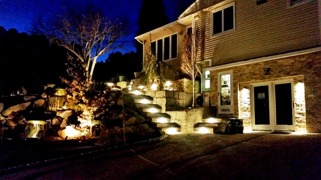 Lighting offers security and property enhancement