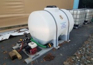 550 Gallon Poly Spray Tank w/ Boom & Honda Motor